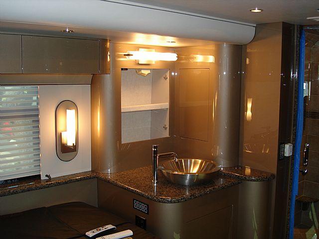 Rv Bathroom Interior Remodels At Premier Motorcoach Innovations Santa Ana Ca 4
