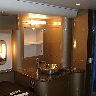 Rv Interior Bathroom Remodels At Premier Motorcoach