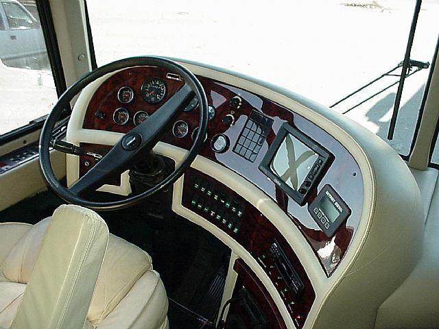 Prevost RV Custom Dashboards and Cockpit Areas
