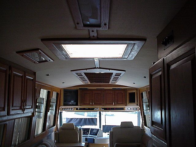 Rv Roof Top Deck At Premier Motorcoach Innovations